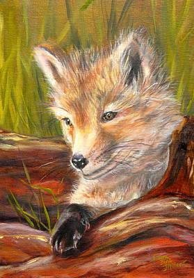 Wise As A Fox Print by Laura Bird Miller