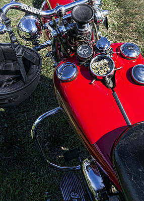Headlight Photograph - Wise Old Indian by Peter Chilelli