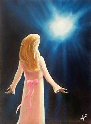 Spiritual Painting - Wish Upon A Star by Joni McPherson
