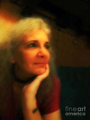 Wistful Print by RC DeWinter