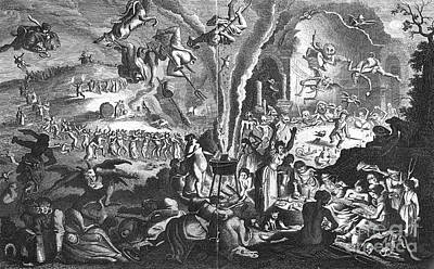 Witches Sabbath Print by Granger