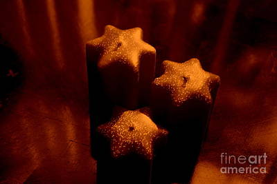 Candle-abstract Photograph - With Ambiance by Susanne Van Hulst
