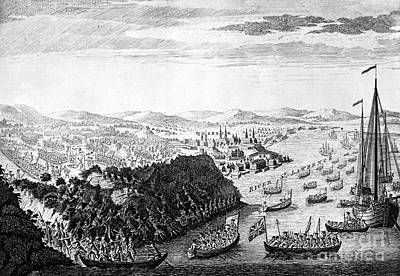 1759 Photograph - Wolfe At Quebec, 1759 by Granger