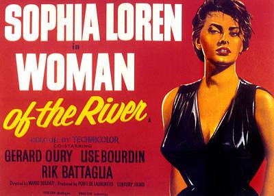 Woman Of The River, Aka La Donna Del Print by Everett
