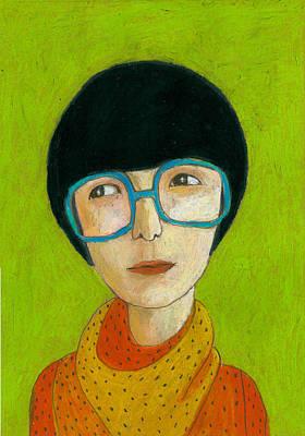 Individuality Digital Art - Woman Portrait by Jenny Meilihove
