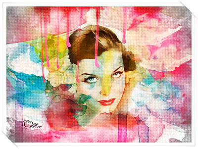 Doubts Digital Art - Woman's Soul Prelude by Mo T