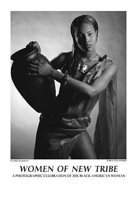 Women Of A New Tribe - Water Maiden I Print by Jerry Taliaferro