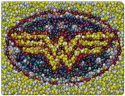 Wonder Woman Mm Mosaic Original by Paul Van Scott