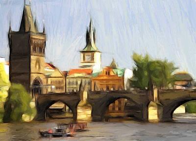 Wonderful Prague Print by Steve K