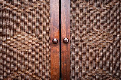 Wooden Wardroabe Print by Tom Gowanlock