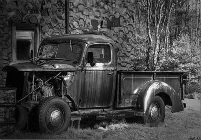 Photograph - Workhorse Put To Pasture by Stephen EIS