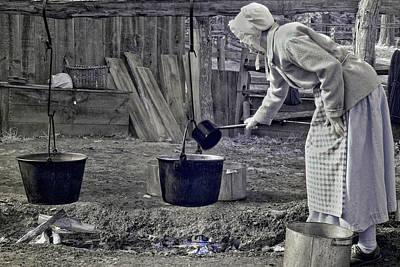 Working Girl Print by Joann Vitali