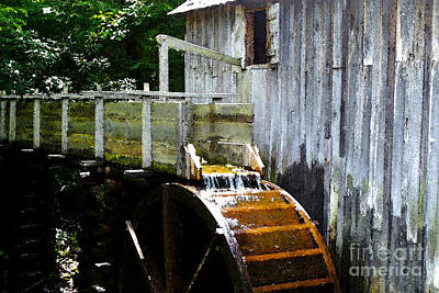 Grind House Photograph - Working Mill by Alan Look