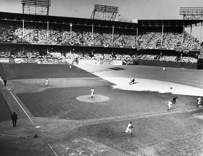 Ebbets Field Photograph - World Series, 1941 by Granger