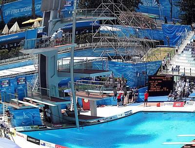 World Swimming Championship Rome  Italy Platform Dive Final  Rome  Original by John Vito Figorito