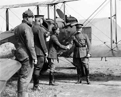 World War I, Captain Strus Second Print by Everett