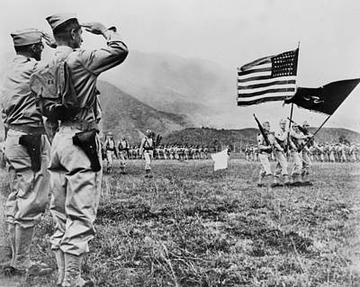 World War II, Brigadier General E.b Print by Everett