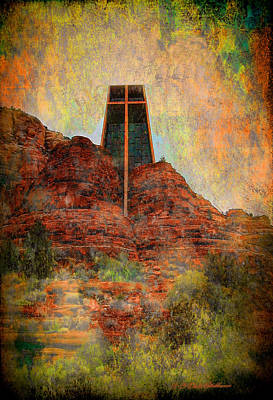 Worship In Sedona Print by Dale Stillman