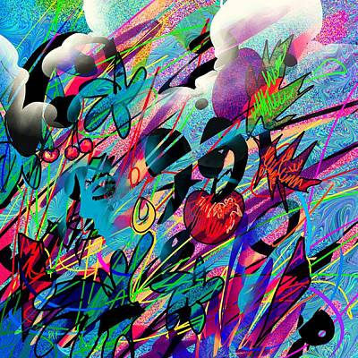 Overcoming Digital Art - Wounded Fruit by Rachel Christine Nowicki