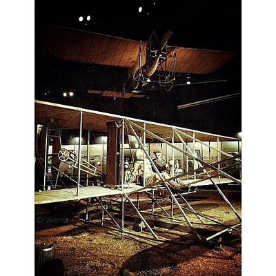 Airplane Photograph - Wright 1909 Military Flyer by Natasha Marco