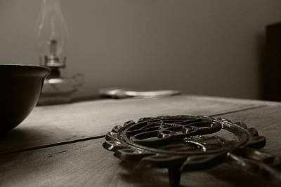 Wrought Iron Trivet Print by Scott Hovind