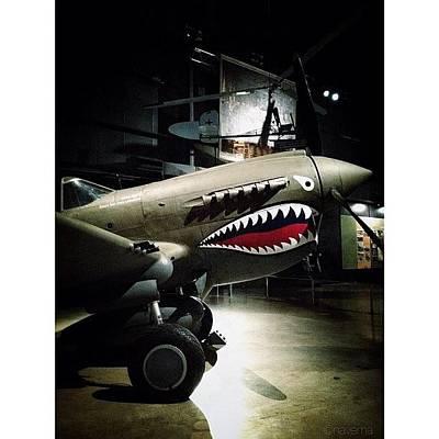 Airplane Photograph - Ww2 Curtiss P-40e Warhawk by Natasha Marco