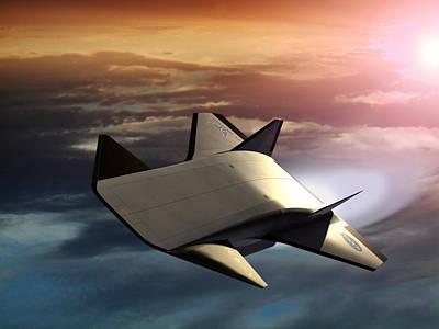 X-43b Aircraft Print by Nasa