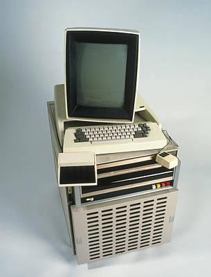 Xerox Alto Computer Print by Volker Steger