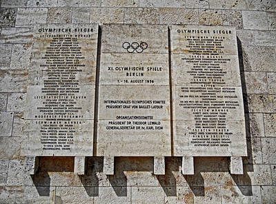 Xi. Olympic Games 1936 - Berlin Print by Juergen Weiss