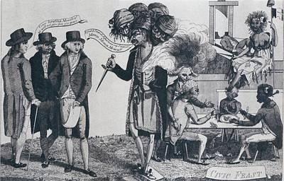 Xyz Affair Inspired This 1799 Cartoon Print by Everett