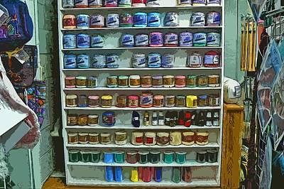 Yarn Shop Threads Original by Pamela Patch