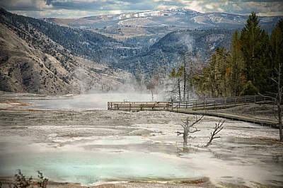 Yellowstone Park Original by Mary Timman
