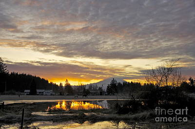 Washington Photograph - Yelm Dawn by Sean Griffin