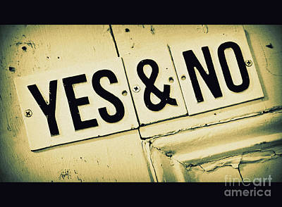 Yes And No Original by Perry Webster