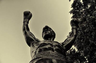 Boxing Digital Art - Yo Rocky by Bill Cannon