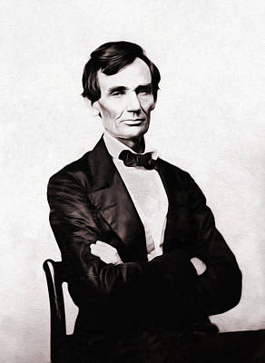 War Photograph - Young Mister Lincoln by Bill Cannon