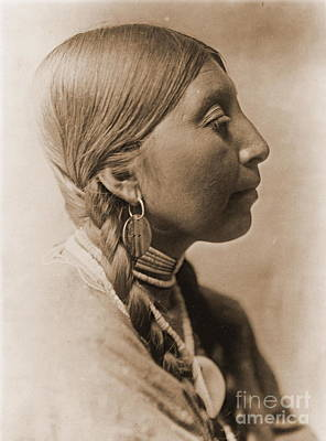Choker Photograph - Young Wishham Woman by Padre Art