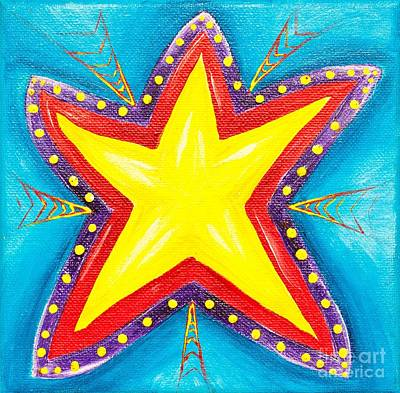 Your A Star Print by Melle Varoy