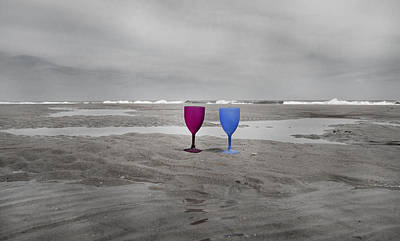 Ti Photograph - Your Wine Is Waiting by Betsy Knapp