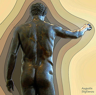 Youth From Antikythera Print by Augusta Stylianou