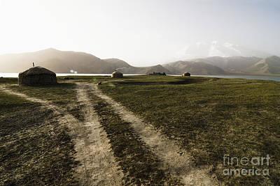 Yurts Photograph - Yurts And A Dirt Road by Sam Bloomberg-rissman