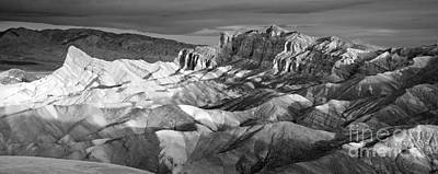 Manley Photograph - Zabriskie Point Panorama by Jim Chamberlain