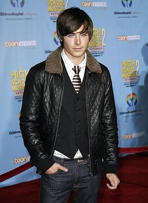 Zac Efron At Arrivals For Dvd Premiere Print by Everett
