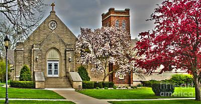 Zion Lutheran Church Photograph - Zion Lutheran Church by Jack Schultz