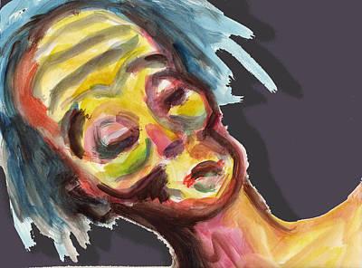 Zombie Print by Lana Cheng