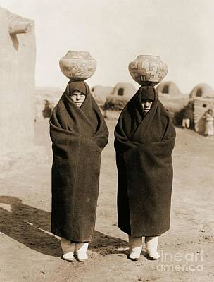 Zuni Water Carriers Print by Padre Art