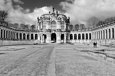 Nobody Photograph - Zwinger Dresden Rampart Pavilion - Masterpiece Of Baroque Architecture by Christine Till