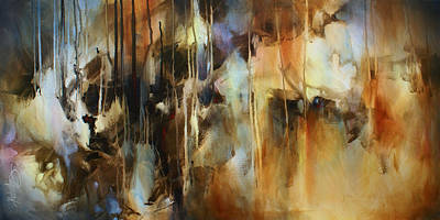 Earth Tones Painting -  ' No Return ' by Michael Lang