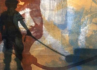 Pity Mixed Media -  Abugraib. La Pieta by Giovanni Greppi