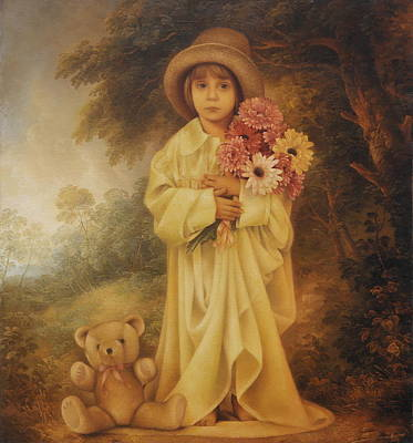 Painting -  Alice by Arthur Braginsky